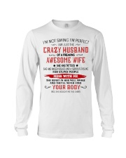 Crazy Husband Long Sleeve Tee thumbnail