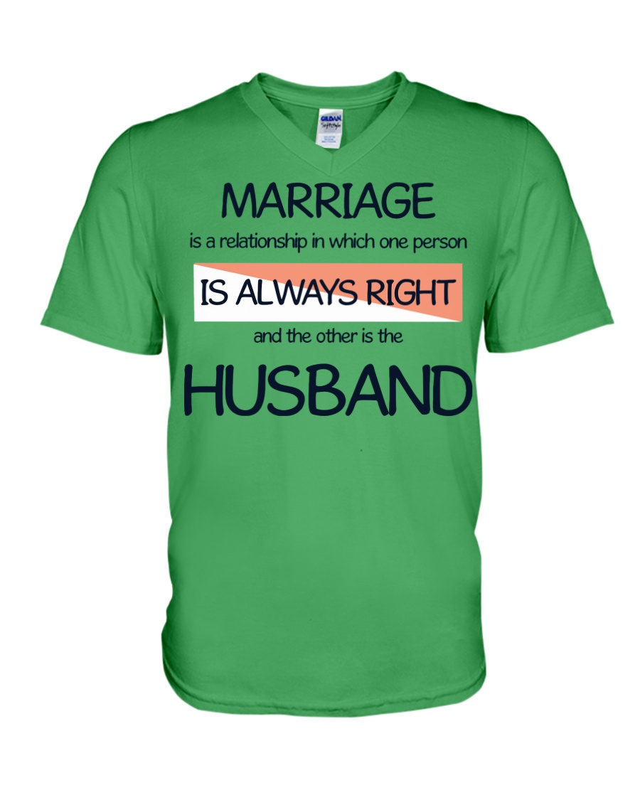 Marriage Thing V-Neck T-Shirt