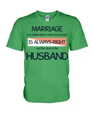 Marriage Thing V-Neck T-Shirt front