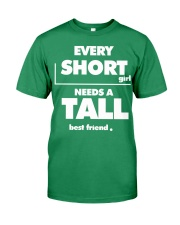Every Short Girl Needs A Tall Best Friend Premium Fit Mens Tee tile