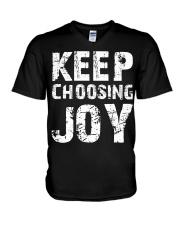 Keep choosing joy V-Neck T-Shirt thumbnail