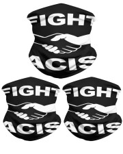 Neck Gaiter Fight Racism Shirt Neck Gaiter - 3 Pack front