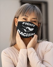 Fight Racism Shirt Face Mask Cloth Face Mask - 3 Pack aos-face-mask-lifestyle-17