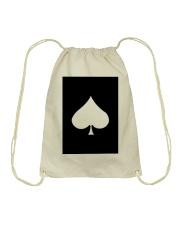 Spades Playing Card Drawstring Bag thumbnail