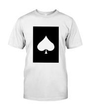 Spades Playing Card Classic T-Shirt thumbnail
