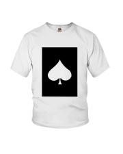 Spades Playing Card Youth T-Shirt thumbnail