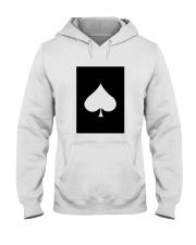 Spades Playing Card Hooded Sweatshirt thumbnail