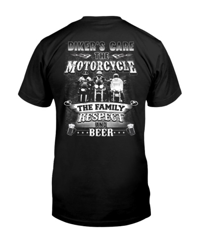 A Biker' Care Bikers' Top Awesome T-Shirt