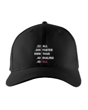 ALL FASTER THAN DIALING 911 Embroidered Hat thumbnail