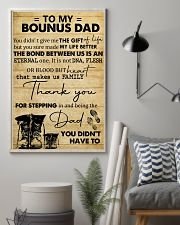 To My Bonus Dad 11x17 Poster lifestyle-poster-1
