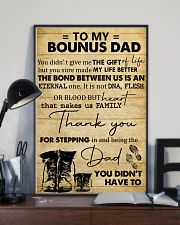 To My Bonus Dad 11x17 Poster lifestyle-poster-2