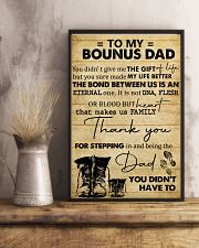 To My Bonus Dad 11x17 Poster lifestyle-poster-3