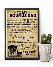 To My Bonus Dad 11x17 Poster lifestyle-poster-8
