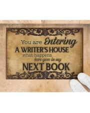 """Writer's House Doormat 22.5"""" x 15""""  aos-doormat-22-5x15-lifestyle-front-05"""