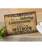 """Writer's House Doormat 22.5"""" x 15""""  aos-doormat-22-5x15-lifestyle-front-11"""