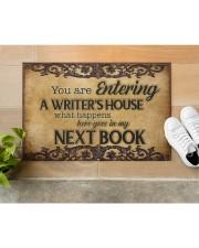 """Writer's House Doormat 22.5"""" x 15""""  aos-doormat-22-5x15-lifestyle-front-12"""