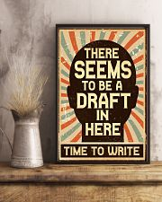 Time to Write 16x24 Poster lifestyle-poster-3