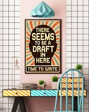 Time to Write 16x24 Poster lifestyle-poster-6