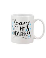 Tears of my readers Mug front