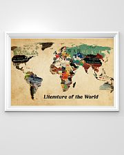 Literature of the world 36x24 Poster poster-landscape-36x24-lifestyle-02