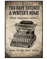 Writer's Home 11x17 Poster front