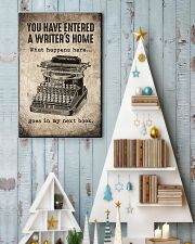 Writer's Home 11x17 Poster lifestyle-holiday-poster-2