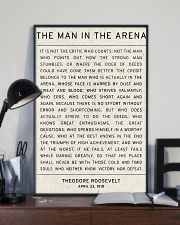 The man In The Arena 11x17 Poster lifestyle-poster-2