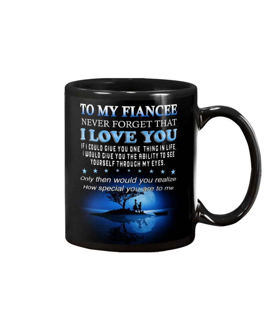 To My Fiancee Mug