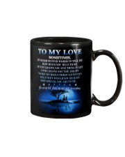 To My Love Mug front