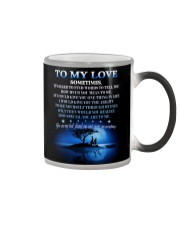 To My Love Color Changing Mug thumbnail
