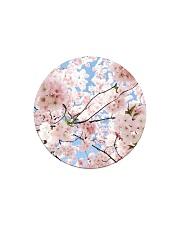 Cherry Blossom Circle Magnet thumbnail