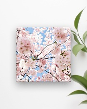 Cherry Blossom Square Magnet aos-magnets-square-front-lifestyle-4