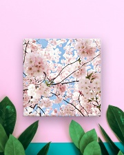 Cherry Blossom Square Magnet aos-magnets-square-front-lifestyle-5