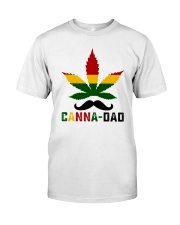 Canna-Dad Classic T-Shirt front