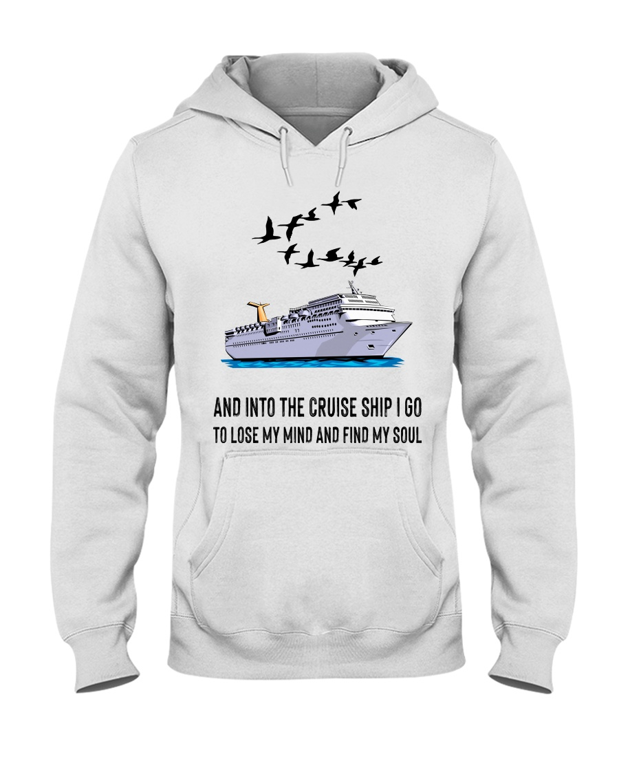 Cruising V002 Hooded Sweatshirt