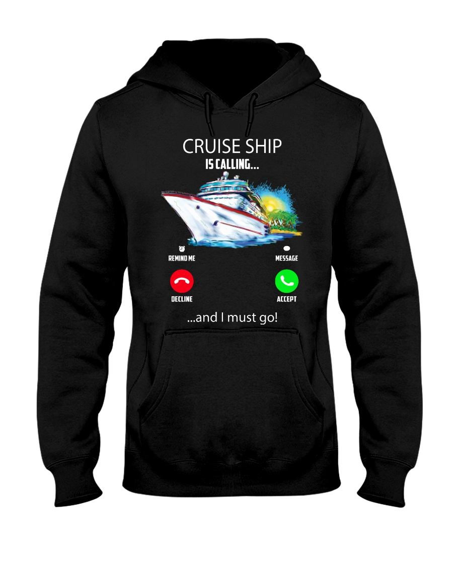 Cruise ship Hooded Sweatshirt Hooded Sweatshirt