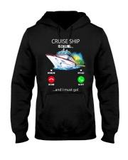 Cruise ship Hooded Sweatshirt Hooded Sweatshirt front