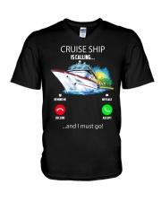 Cruise ship Hooded Sweatshirt V-Neck T-Shirt thumbnail