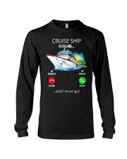 Cruise ship Hooded Sweatshirt Long Sleeve Tee thumbnail