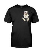 Australian Shepherd Lovers Classic T-Shirt front