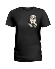 Australian Shepherd Lovers Ladies T-Shirt thumbnail