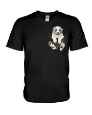 Australian Shepherd Lovers V-Neck T-Shirt thumbnail