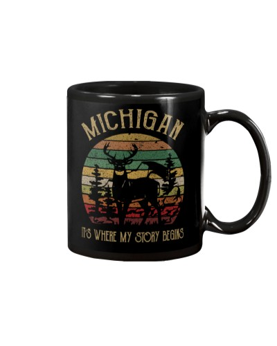 MICHIGAN IT'S WHERE MY STORY BEGINS