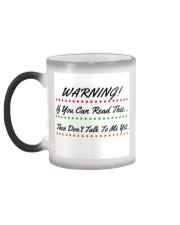 Warning Coffee Color Changing Mug Color Changing Mug color-changing-left