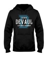 Team DEVAUL - Lifetime Member Hooded Sweatshirt front