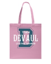 Team DEVAUL - Lifetime Member Tote Bag thumbnail