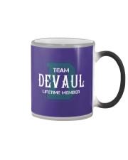Team DEVAUL - Lifetime Member Color Changing Mug thumbnail