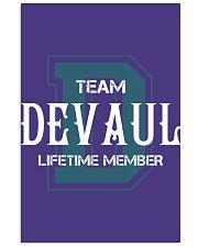 Team DEVAUL - Lifetime Member 11x17 Poster thumbnail