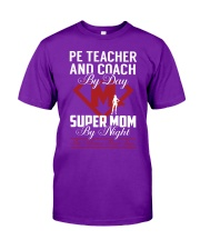 Pe Teacher And Coach - Super Mom Job Classic T-Shirt thumbnail