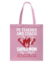 Pe Teacher And Coach - Super Mom Job Tote Bag thumbnail